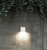 Applique murale exterieure LED blanche 158mm haut 26W