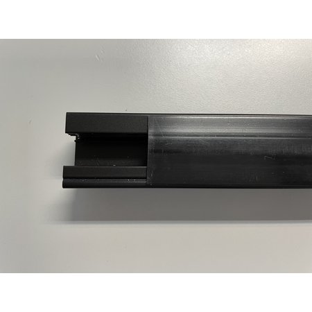 Finishing profile built-in 1m long for 2-wire black or white