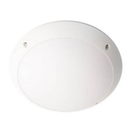 Plafonnier LED salle de bain rond blanc 380mm Ø 26W