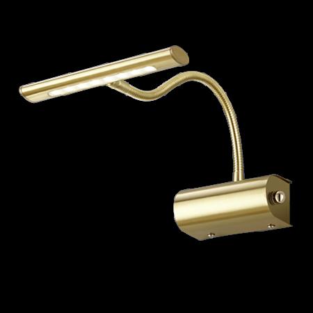 Dimbare schilderijverlichting brons, goud  of grijs LED 4W 180mm