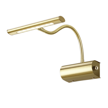 Eclairage dimmable tableau LED bronze, or ou gris 4W 180mm