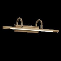 Eclairage tableau LED bronze ou gris 8W 480mm sans interupteur