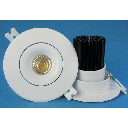 Recessed spotlight kitchen saw size 70mm LED 6W 95 mm outsize