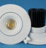 Downlight recessed 24W LED orientable 15°/24°/38°/60°