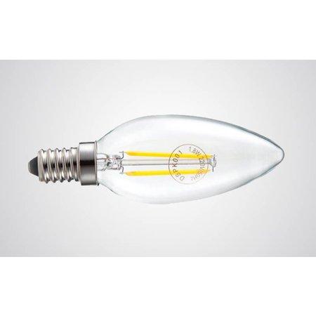 LED kaarslamp dimbaar 4W kooldraad
