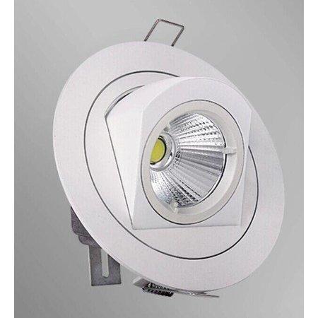 Spot encastrable LED 10W 360° orientable