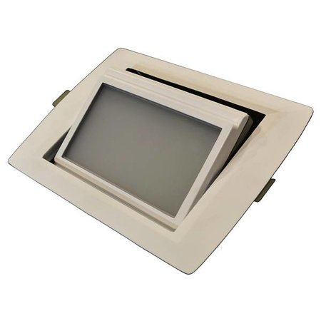 Spot encastrable rectangulaire LED 30W orientable dimmable