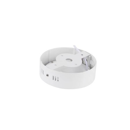 LED paneel plafond opbouw rond 6W 120mm diameter wit