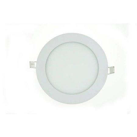 LED paneel plafond rond inbouw 18W 223mm diameter wit