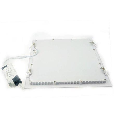 Dalle LED plafond 30x30 encastrable carrée 24W