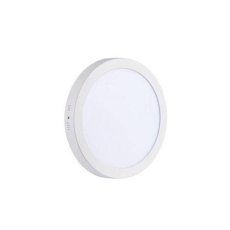 LED paneel plafond opbouw rond 24W 300mm diameter wit
