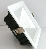Downlight recessed LED square 20W white 180mmx180mm