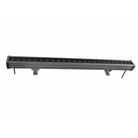 LED bar 18W 0,5m zwart-donkergrijs