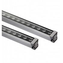 LED bar 18W 1m zwart