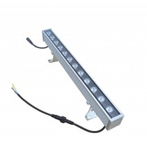 Bar LED 24W 1m noir-gris