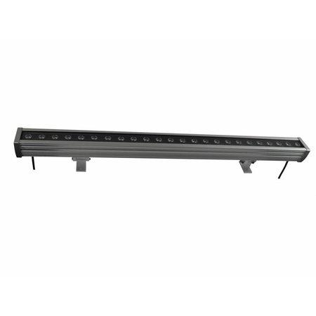 LED bar 24W 1m zwart-donkergrijs