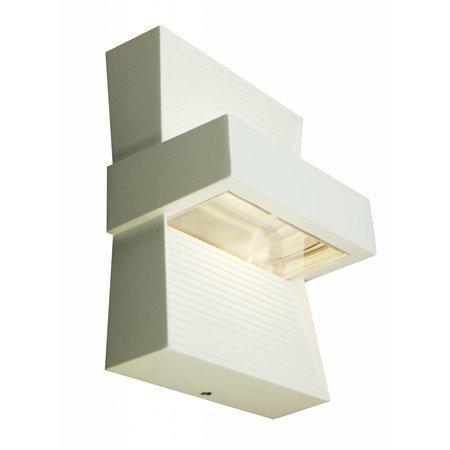 Wandlamp buiten LED wit, zilver of grafiet up down 5W
