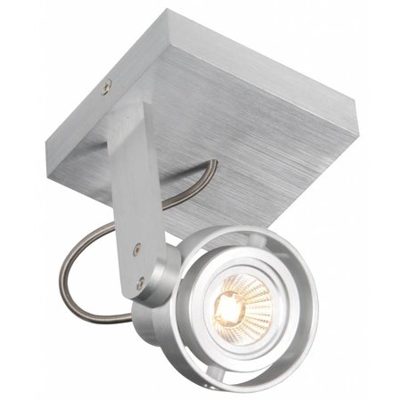 Ceiling light LED dimmable square GU10 4,5W 110mm