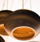 Hanglamp-karton wit of beige design ellips Ø 60cm met E27
