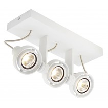 Plafonnier LED dimmable GU10 3x4,5W 286mm large