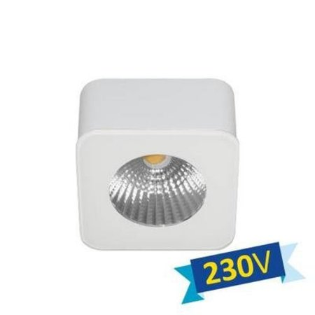 Plafondlamp LED vierkant wit of zwart driverless 62mm 5W