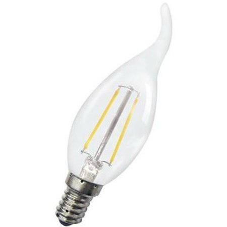 Lampe bougie dimmable LED 4W col de cygne filament