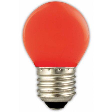 Gekleurde LED kogellamp E27 1W (blauw, geel, groen, oranje, rood)