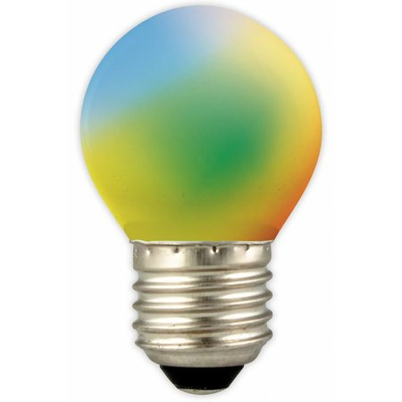 Ampoule LED boule couleur E27 1W (blue, yellow, green, orange, red)
