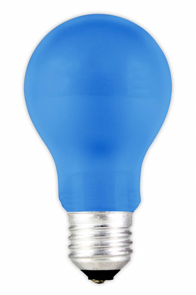 Led Light Bulb Color E27 1w Blue