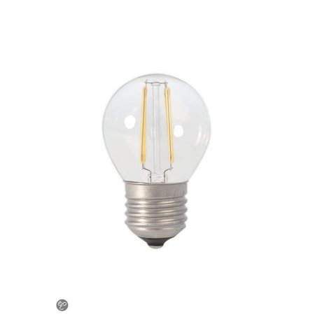LED ball lamp dimmable filament 2W