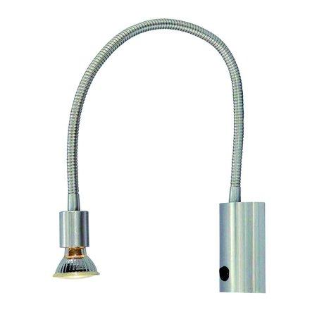 Applique murale lampe de lecture flexible GU10 665mm haut