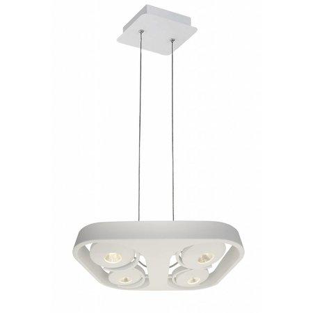 Hanglamp eetkamer wit design LED 4x10W 442mmx372mm