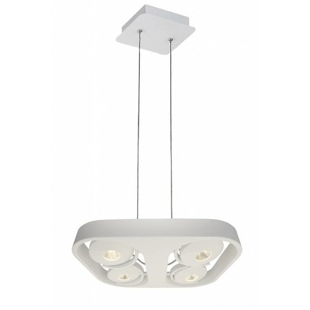 Pendant light design white LED 4x10W 442mmx372mm