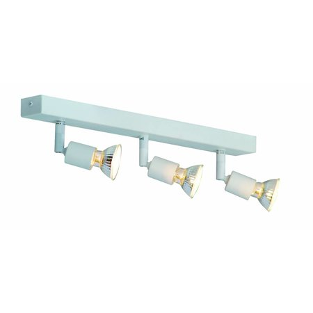 Ceiling light GU10x3 white,grey,bronze, glass support 400
