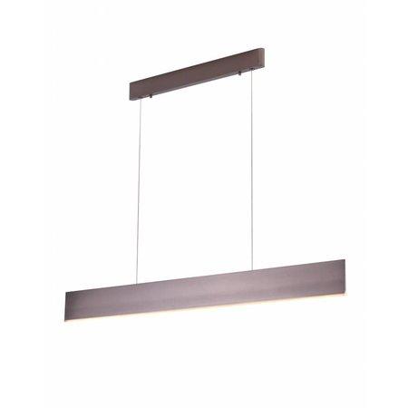 Luminaire suspendu noir, blanc, brun LED moderne 26W