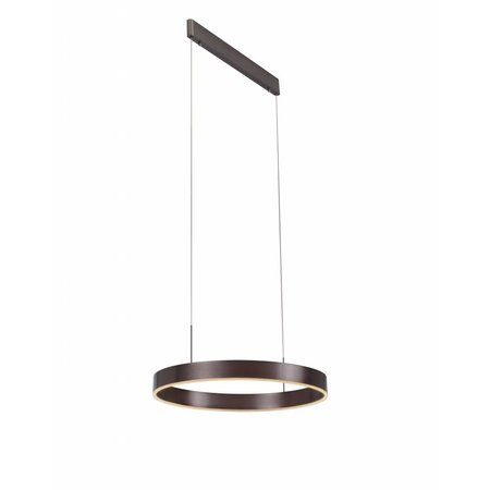 Pendant light design round brown, black, white 22W 571mm