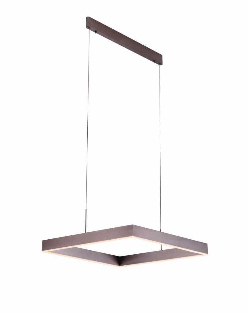 Pendant Light Design Square Brown
