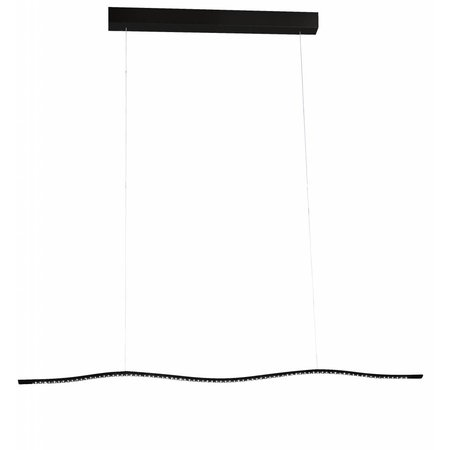 Hanglamp wit of zwart LED lang 16,8W 1040mm breed