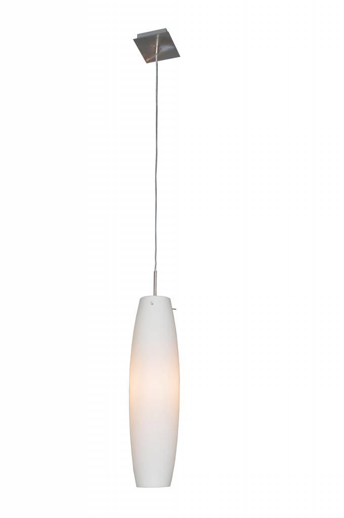 88mm Luminaire Suspendu Verre E27 Diamètre Blanc nP8OX0wk
