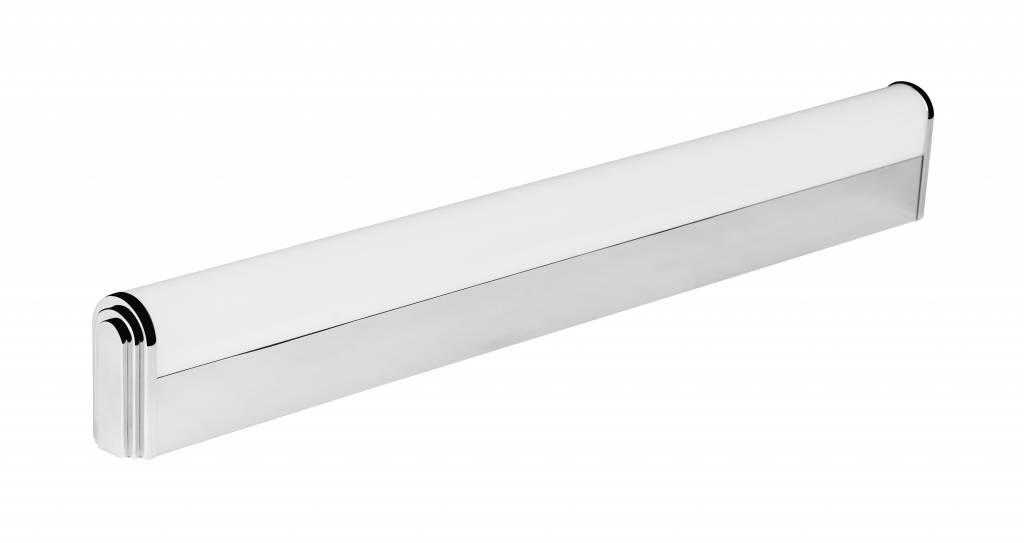 Wandlamp badkamer led chroom plexi 12w 610mm lang ip44 myplanetled
