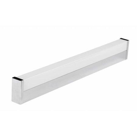 Wall light LED bathroom angular 12W LED IP44 600mm long