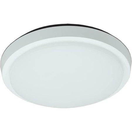 Plafonnier LED salle de bain verre mat 30W LED IP44 254mm