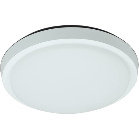 Plafondlamp LED badkamer glas mat 35W LED IP44 305mm