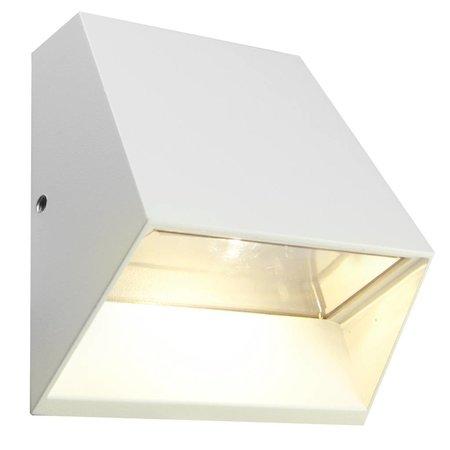 Applique murale exterieure LED 6W graphite/blanc/argent/rouille 125mm