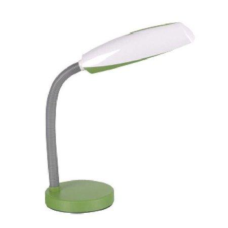 Desk lamp white-blue, white-green, white-purple E27 bendable 400mm high