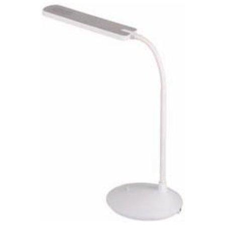 Desk lamp LED foldable 6W LED black or white 410mm high