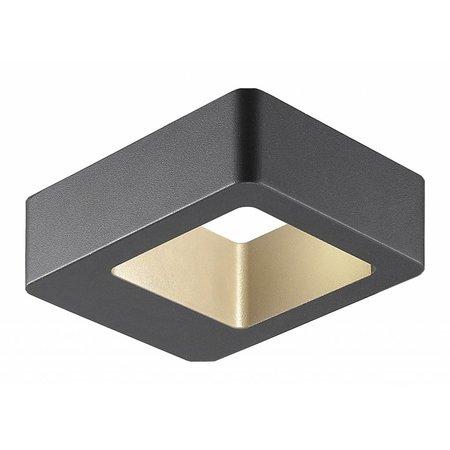 Wandlamp buiten LED design 5W grafiet IP 54 120mm breed