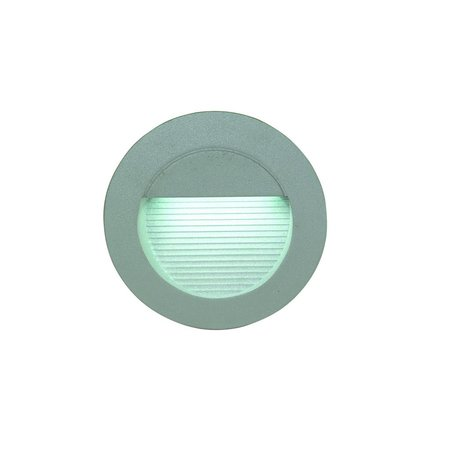Wall light LED built-in round frontal 0,6W LED IP54 125mm