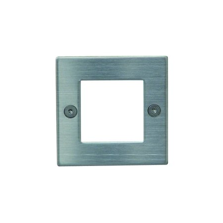 Applique murale LED encastrable carrée 0,45W LED IP54 71mm
