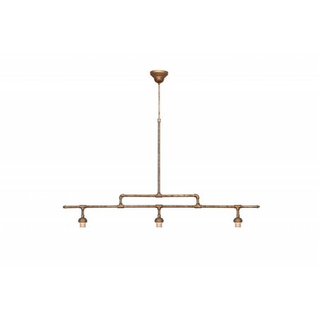 Pendant light bronze lamp shade not included 3xE27 1290mm wide